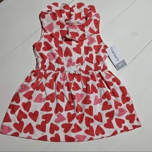 Carter's Baby Valentine Hearts Dress